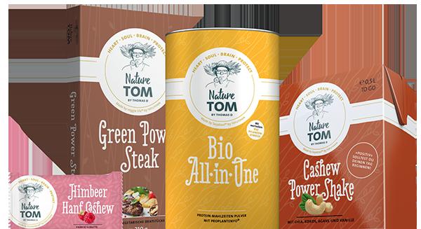 Produkte der Marke Nature TOM